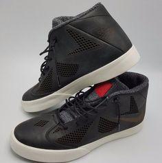 big sale 90fa6 0ee16 NSW Nike LeBron X 10 Lifestyle Black Sail University Red Sz 9.5