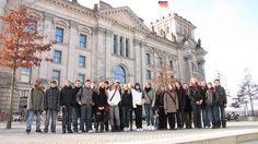13. Februar 2009: 30 Konfirmanden vom evangelischen Kirchspiel Mühlhausen unter Leitung von Pfarrer Dirk Vogel bereiteten sich mit einer Berlinfahrt auf die Konfirmation zu Pfingsten 2009 vor.