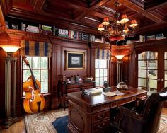 Manly Home Offices (22 Photos)