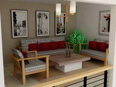 living room lantai 2