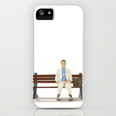 Forrest Gump iPhone & iPod Case by Khandisha - $35.00
