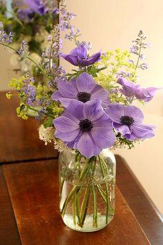 Wild flower bouquets