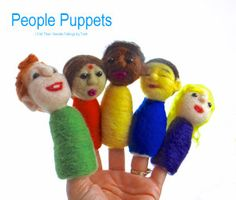 Finger Puppets - Different People of the World