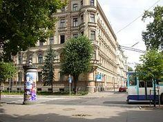 Riga, Letonia, Calle, Escena, Europa