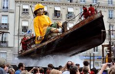 Cute Thing: Marionetes Gigantes - Royal De Luxe