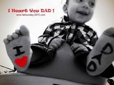 I Heart You DAD on Father's Day 2014 Pictures, Images, Photos Greetings