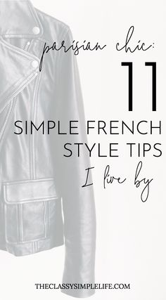 Parisian Chic: 11 Simple French Style Tips I Live By – The Classy Simple Life What is it about French style that's so simple and effortless? Don't miss these 11 French style tips from Parisian style icons Caroline de Maigret and Garance Dore. Style Français, Style Icons, Simple Style, Women's Style Tips, Style Blog, Style Guides, Tokyo Fashion, New Yorker Mode, Parisian Chic Style