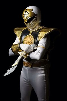 White ranger- Childhood!