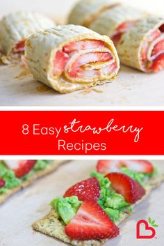 Crackers Avocado Strawberries Top large whole grain crackers with mashed avocado and sliced strawberries Strawberry Topping, Strawberry Recipes, Healthy Snacks, Healthy Recipes, Healthy Eating, Mashed Avocado, Evening Meals, Crunches, Smoothie Recipes