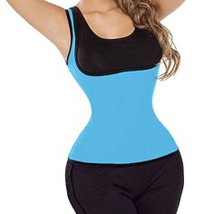 Lelinta Women's Hot Neoprene Sweat Sauna Hot Body Shapers Fat Burner Tank Top Yoga Slimming Vest -- Be sure to check out this awesome product.