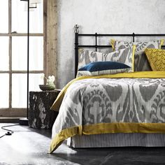 Shahi Ikat Queen bed quilt cover- by Aura Home. This doona cover I am definitely buying!!