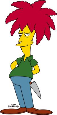 Sideshow Bob- Best. Character. Ever