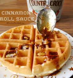 cinnamon_roll_sauce Grade A Perfect and easy addition to pancakes or waffles.