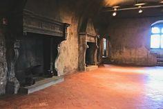 sala del castello di serralunga