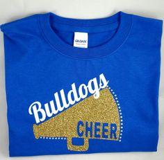 Custom cheer camp shirts