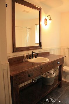 The Sprouted Root: Bathroom Redo