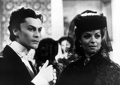 Romy Schneider and Helmut Berger in Ludwig directed by Luchino Visconti, 1972