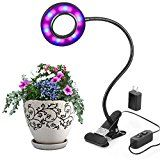 #USAshopping #4: Led Grow Light By Aokey Profession Plant Lamp for Indoor Plants | 10W Adjustable 6 Level Dimmable Clip Desk Lamp with…