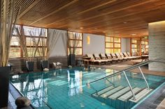 One of the indoor pools with thermal water at Dolenjske Toplice