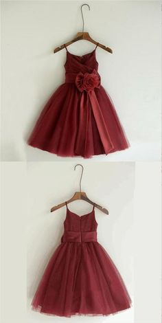 79281328e 18 Best Flower Girl Dresses burgundy images