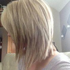 When I just cut my hair! Blonde highlights!
