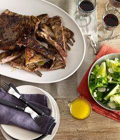 Perfect match: lamb ribs with montepulciano