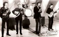 Rolling Stones in mod suits