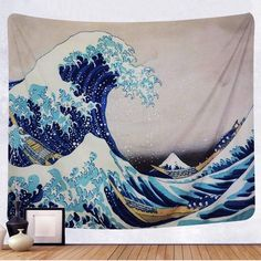 Discover the best beach themed tapestries and coastal wall tapestries. We love beach wall decor and tapestries are affordable and beautiful, which makes them a great option. Living Room Bedroom, Living Room Decor, Bedroom Decor, Wall Decor, Wall Art, Child's Room, Bedroom Inspo, Bed Room, Diy Wall
