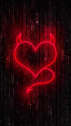 Devil Heart - iPhone Wallpapers
