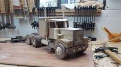 Project by SouthavenToyMaker Discount Appliances, Home Appliances, Wood Toys Plans, Model Building, Home Depot, Wooden Toys, Tractors, Trucks, Joy