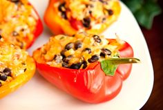 Recipe of the Day: Black Bean Stuffed Bell Peppers