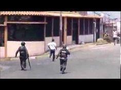 protesta en tachira miren lo que pasa... CERCA DE LA UNIVERSIDAD NACIONAL EXPERIMENTAL DEL TACHIRA