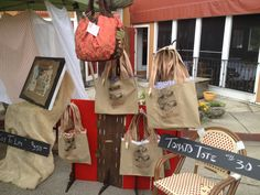 Dhheritage Displays Tote Bags At Art Festival Bag Display Leather Design Craft Markets