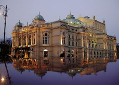 Krakow opera house, small version of the Paris one