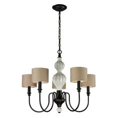 Buy the Elk Lighting Aged Bronze Direct. Shop for the Elk Lighting Aged Bronze Benicia Collection 5 Light Single Tier Chandelier with Fabric Shade and save. Silver Chandelier, Chandelier Ceiling Lights, Chandelier Lighting, Elk Lighting, Sconce Lighting, Home Lighting, Lighting Design, Kitchen Lighting Fixtures, Ceiling Light Fixtures