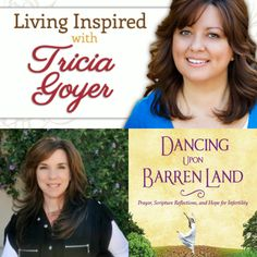 This Week on Living Inspired: Lesli Westfall and Amy Lively The Interview, Book Study, Magazine Articles, Word Families, Faith In God, Social Platform, Fertility, Confused, Health And Wellness