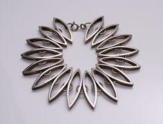Bracelet | WAB Sweden date E9 c.1955 Sterling Silver