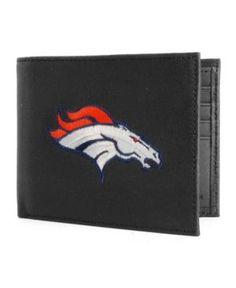 Rico Industries Denver Broncos Black Bifold Wallet - Black