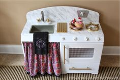 Dwellings By DeVore: DIY play kitchen makeover