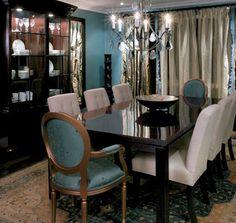 Candice Olsen dinning room.