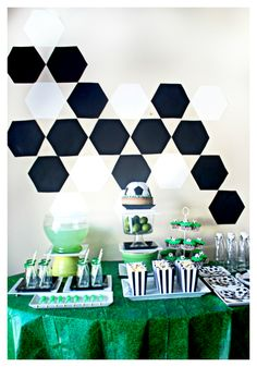 Soccer Birthday Party {Little Light Design Collective}