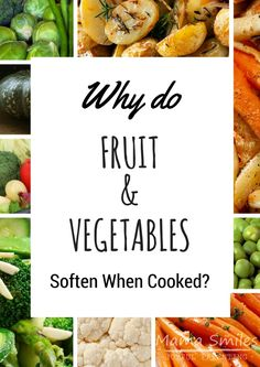 Why do fruits and vegetables get soft when cooked? This post explains this food science for kids, along with a couple of experiments to try! via /mamasmiles/ Stem Science, Food Science, Science Experiments Kids, Science Fair, Stem For Kids, Math For Kids, Science For Kids, Science And Nature, Educational Activities For Kids