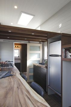 The 24' tiny house was built by Vancouver Island-based…