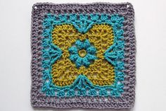 169/365 - Flower Tiles Afghan by craftyminx, via Flickr