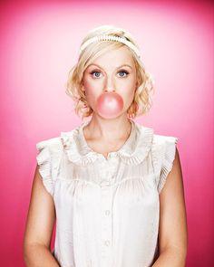 amy poehler #bubblegum