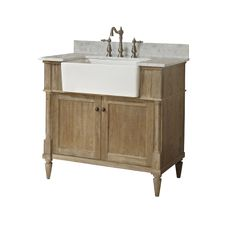 "Rustic Chic 36"" Farmhouse Vanity"