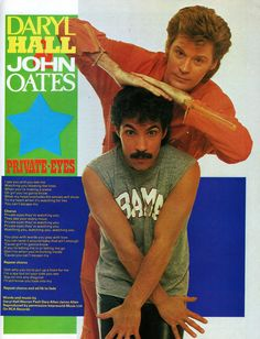 Daryl Hall & John Oates, Private Eyes, 1981