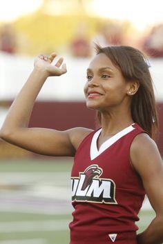 #ulm #warhawks #football #ulmspirit #cheerleader #ulmcheerleader #warhawknation #maroonandgold #talonsout