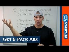 Watch this video for some great tips about dieting in order to get six pack abs.  If you are interested in what sorts of exercises are the best to burn belly fat check this post - http://abmachinesguide.com/what-are-the-best-exercises-to-burn-belly-fat/  #sixpackabs #bellyfat