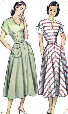 1950s Pattern Simplicity